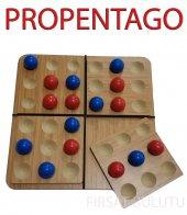 Ahşap Pentago Strateji Ve Zeka Oyunu Dikkat...