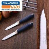 Tramontına Paslanmaz Çelik Meyve Bıçağı 2li Bıçak 18,5 Cm