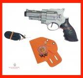 Oyuncak Polis Silah Seti 3 Parça (Tabanca, Kemer, Kılıf)