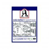 Mona Lisa Profesyonel Eskiz Defteri A4 Ebat 120...