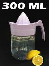 Cam Hazneli Limon Sıkacağı Narenciye Sıkacağı Limonluk 300 Ml