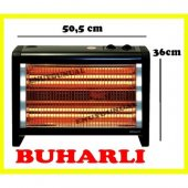 Conti Cqs 2800 Elektrikli Soba 1800 W Buharlı Ve Turbo Fan