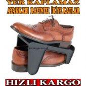 Ayakkabı Rampası Bir Çift Ayakkabı Rampası 50 Yer Tasarrufu