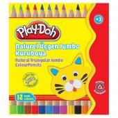 Play Doh Naturel Üçgen Jumbo Büyük Boy 12 Renk...