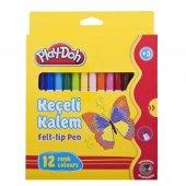 Play Doh Ke007 12 Renk Keçeli Kalem 5mm
