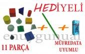11 Parça Geometrik Cisimler Seti F.c. Kalem Ve...