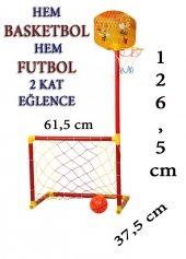 Futbol Kalesi Ve Basketbol Potası Kale Pota