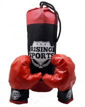 Rising Sports Boks Torbası Ve Eldiveni
