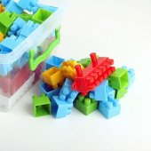 Lego Seti 35 Parça Çantalı Midi Blok Çocuk Oyun Lego Seti