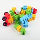 Lego Seti 124 Parça Vakumlu Midi Blok Çocuk Oyun Lego Seti