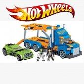 Hot Wheels Taşıyıcı Tır Lego Seti 258 Parça