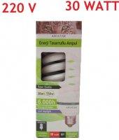 Awatar Enerji Tasarruflu Beyaz Ampul 220 V 30 W