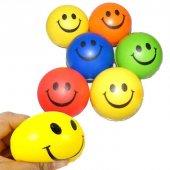 Gülen Yüz Desenli Rehabilitasyon Ve Stres Topu Ücretsiz Kargo