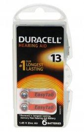 Duracell Activair 13 Kulaklık Cihazı Pili 6 Lı