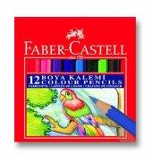 Faber Castell 12 Li Yarım Kuru Boya