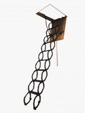 Nukan Makaslı 70x100 Cm Katlanır Çatı Merdiveni