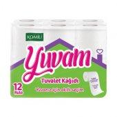 Komili Yuvam Tuvalet Kağıdı 180 Yapraklı 12...