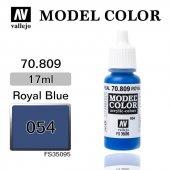 70809 17 Ml. (54) Royal Blue Matt Model Color