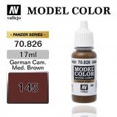 70826 17 Ml. (145) German Cam. Med.brown Matt Mode