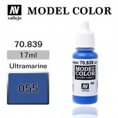 70839 17 Ml. (55) Ultramarine Matt Model Color