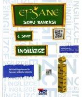 Açı Yayınları 6. Sınıf İngilizce Efsane Soru Bankası 2019 2020