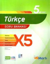 5. Sınıf Türkçe X5 Soru Bankası Martı Okul Yayınları