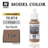 70874 17 Ml. (134) Tan Earth Matt Model Color