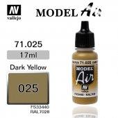 71025 17 Ml. Dark Yellow Model Aır