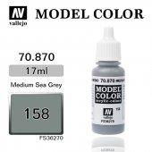 70870 17 Ml. (158) Medium Sea Grey Matt Model Colo
