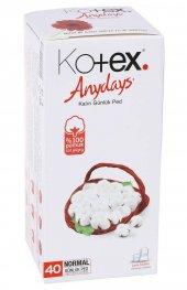 Kotex Günlük Ped Normal 40 Lı Hijyenik Parfümsüz Eko