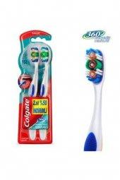 Colgate Diş Fırçası 360 Komple Ağız 1+1 Li Yumuşak