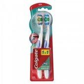 Colgate 360 Komple Ağız Temizliği Orta Diş Fırçası 1+1