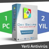 Dev Secure - 1PC, 2YIL - Masaüstü Yerli Antivirüs
