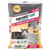 Agrobit cat Kokusuz Kedi Kumu Doğal bentonit İnce Taneli 10 LT