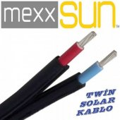 10 Mm Twin Güneş Paneli Kablosu (Birleşik Kablo) (15 Metre Kargo Bedava)