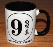 Hogwarts Express 2 baskılı içi ve kulpu renkli kupa