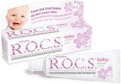 Rocs Baby 0 3 Yaş Ihlamur Özlü Diş Macunu