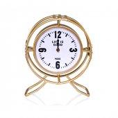 Porio Pr24 1003 Altın Kafesli Ayaklı Masa Saati 25*30