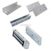 Marelli Cam Kapılar İçin 280 Kg Elektromanyetik Elektro Manyetik Kilit Ve Aparatları Üst Kısım Ahşap Alüminyum