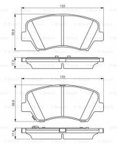 Kia Ceed 1.6 CRDi 2012-2018 Bosch Ön Fren Balatası