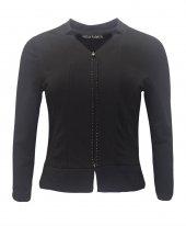 Janset Moda PB-UB3010 Bayan Siyah Bluz