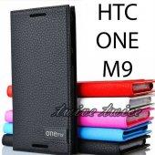 HTC ONE M9 KILIF SAFİR KAPAKLI KORUMA-2