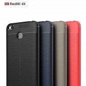 Xiaomi Redmi 4X Kılıf Dermatoloji Silikon Gri-3