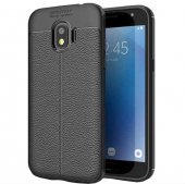 For Samsung Galaxy Grand Prime Pro Kılıf Deri Görünümlü Silikon K