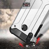 Tough Power Honor 8X Ultra Koruma Kırmızı Kılıf-2