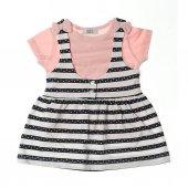 Zekids Kız Bebek 2li Elbise