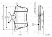 Peugeot Partner 1.6 BlueHDi 2014-2018 Bosch Arka Balata