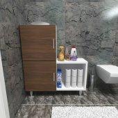 Moonlife 2 Kapaklı L Çok Amaçlı Banyo Dolabı...