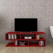 Moonlife Kelebek Tv Sehpası Kırmızı