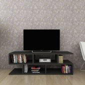Moonlife Kelebek Tv Sehpası Siyah